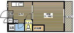 ジョイフル21[205号室]の間取り