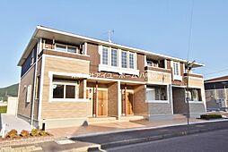 ブルックサイドレジデンス A棟[2階]の外観