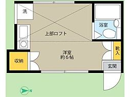 フローレンス恋ヶ窪[2階]の間取り