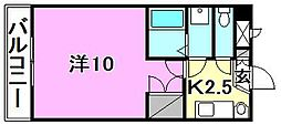 サンハイツ11[402 号室号室]の間取り