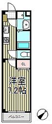 アンプルールフェール大船[1階]の間取り