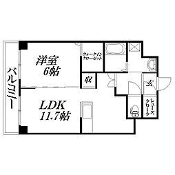 静岡県浜松市東区半田山4丁目の賃貸アパートの間取り