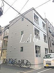 東京都台東区浅草橋2丁目の賃貸アパートの外観