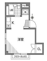 カーサいずみ[1階]の間取り