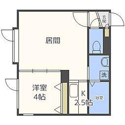 モントレ表参道[3階]の間取り