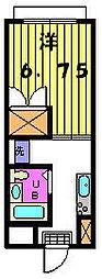 第三カトレアハイツ[3−C号室]の間取り