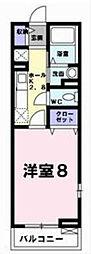シエロ[2階]の間取り
