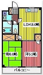 木村ビル[2階]の間取り
