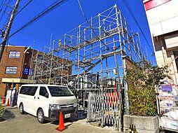 東京都足立区南花畑2丁目の賃貸アパートの外観