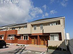 三重県松阪市小舟江町の賃貸アパートの外観