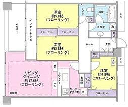 東京シーサウスブランファーレ[35階]の間取り
