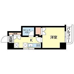 新潟県新潟市中央区東堀通11番町の賃貸マンションの間取り