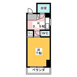 アリエ汐田I[5階]の間取り