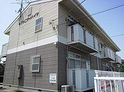 山口県宇部市亀浦5丁目の賃貸アパートの外観