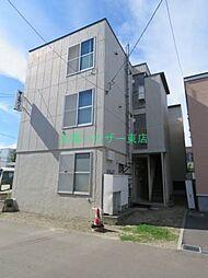 北海道札幌市東区北二十三条東4丁目の賃貸マンションの外観