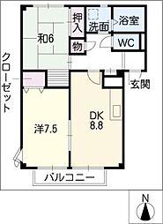 スラローム[2階]の間取り