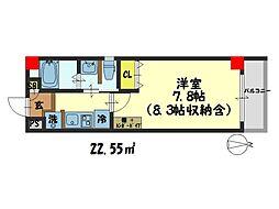 仮)西院平町新築マンション[502号室]の間取り