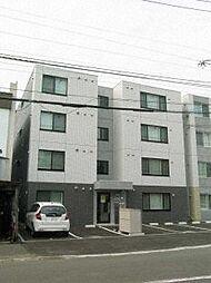北海道札幌市北区北三十三条西2丁目の賃貸マンションの外観