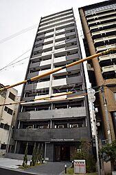 大阪府大阪市中央区高津3の賃貸マンションの外観