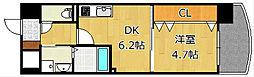 ザ.ヒルズ戸畑[0906号室]の間取り