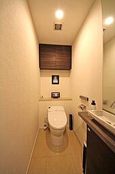 手洗い付きタンクレストイレ
