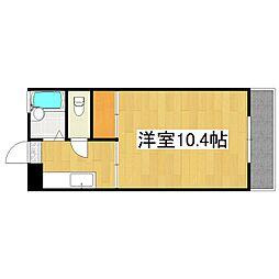 MIIスターマンション[203号室]の間取り