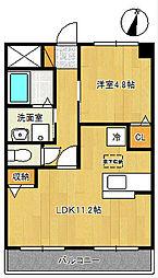 ネオハイムK 1[2階]の間取り