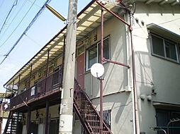 大阪府豊中市服部寿町2丁目の賃貸アパートの外観