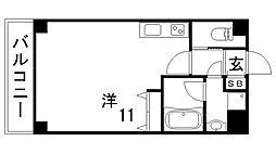 ライジングサン[3階]の間取り