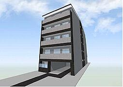 フラッティ西大路花屋町[2階]の外観