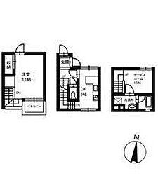 DAMIER−A[1階]の間取り