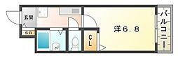 アーバン・ヨシダII[4階]の間取り
