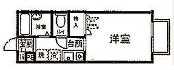 エミネンスコトー[2階]の間取り