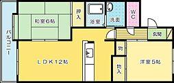 富士ヶ丘[105号室]の間取り