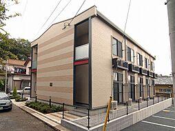 埼玉県さいたま市見沼区東新井の賃貸アパートの外観