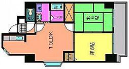 グランシャリオ横川[2階]の間取り