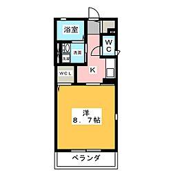 Bell Maison[1階]の間取り