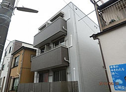 東京都江東区東砂8丁目の賃貸アパートの外観