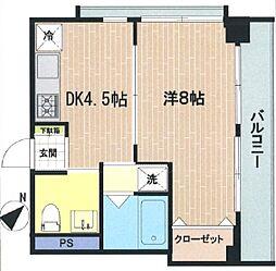 三田シャスターマンション[305号室]の間取り