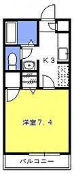 ソアラ[103号室号室]の間取り