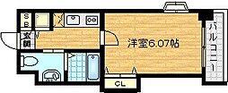 ラ・フォルム梅田ノース[9階]の間取り