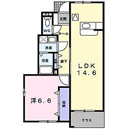 シューネスハイムIII[0104号室]の間取り