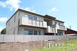 愛知県豊田市三軒町3丁目の賃貸アパートの外観