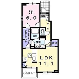 SKH27[1103 号室号室]の間取り