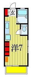 ルクール西船[1階]の間取り