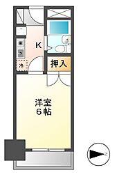 CASA NOAH名古屋1[2階]の間取り