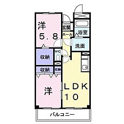 昭和エクセランマンション[0101号室]の間取り