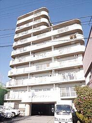 埼玉県草加市手代町の賃貸マンションの外観