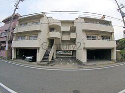 兵庫県伊丹市緑ケ丘1丁目の賃貸マンションの外観