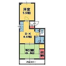 メゾン松崎[103号室]の間取り